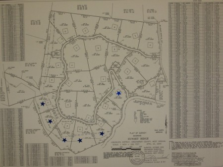 Asbury Trace - Plat Map