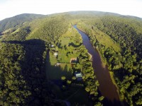 HORROCK STATION ON THE GREENBRIER RIVER  4.8 +/- ACRES