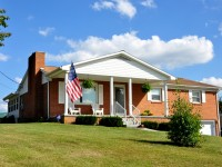 3044 HOUFNAGLE RD, LEWISBURG - Brick Home on 0.5 Acre