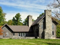 DAYBREAK FARM - LOG HOME & 23 +/- ACRES - DROOP MOUNTAIN
